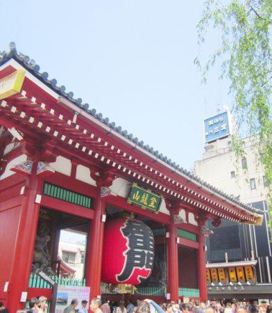 浅草寺は小慣れた観光ルートなので案内もバッチリ